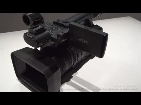 CES 2013 PROTOYPES! Sony 4K Camcorder & New 3D Bonoculars (First Look