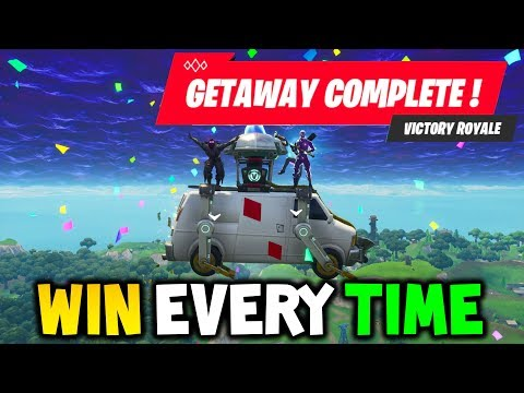 Fortnite: GETAWAY LTM CHEAT to WIN EVERY TIME! EASY WINS!  (High Stakes Explained Tips & Tricks)