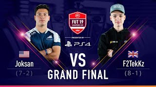 FIFA 19 FUT Champions Cup November Grand Final JoksanRedona vs F2Tekkz