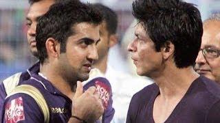 Gautam Gambhir IGNORES Shah Rukh Khan | SHOCKING