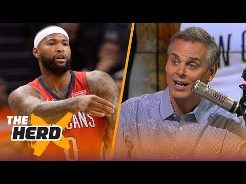 Colin Cowherd on Warriors signing Cousins and LeBron leaving Cleveland   NBA   THE HERD
