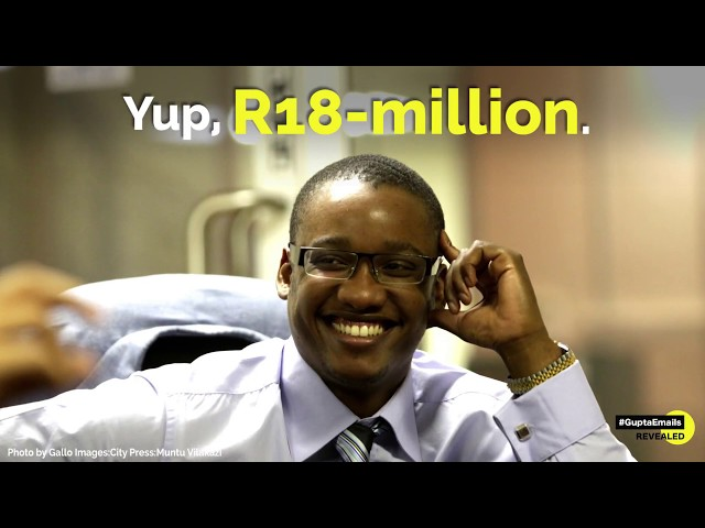 Hand in the cookie jar? 5 times Zuma's son appeared in the #GuptaEmails thumbnail