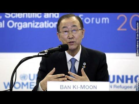 North Korea Uninvites UN Secretary General Ban Ki-Moon