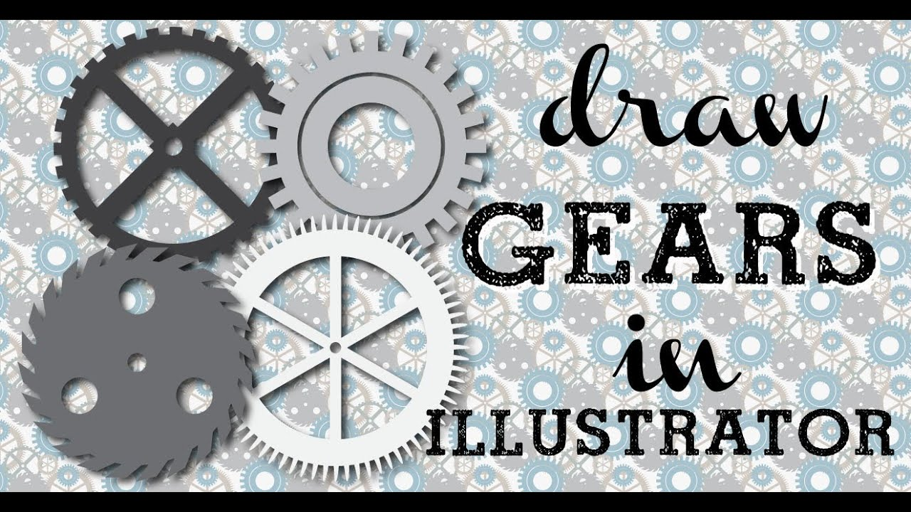 Steampunk Gear Drawing Make Steampunk Gears in