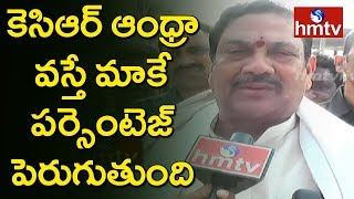 TDP Kala Venkat Rao Face to Face on KCR Return Gift Comments   Srikakulam   hmtv