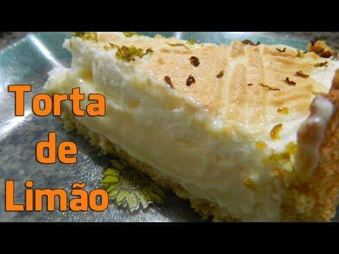 Torta mousse de limão | Cyber Receitas