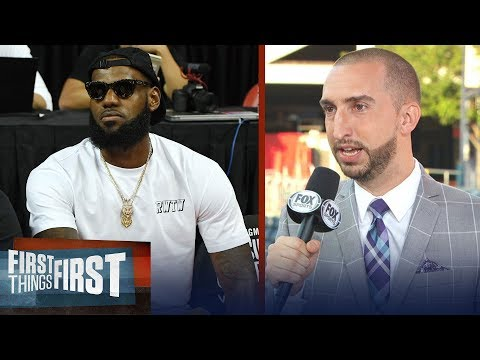 Nick Wright not buying LeBron will be patient with young Lakers squad | NBA | FIRST THINGS FIRST