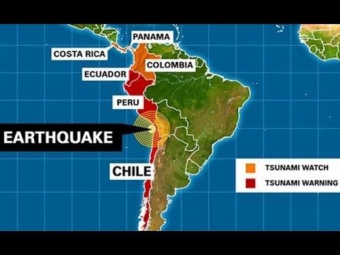POWERFUL MAGNITUDE 8.2 EARTHQUAKE ROCKS CHILE'S COAST TUESDAY NIGHT (APR 2, 2014)