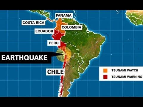 Powerful Magnitude 8 2 Earthquake Rocks Chile S Coast