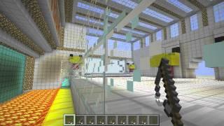 Minecraft BURN THAT CHICKEN MINIGAME! DOWNLOAD LINK PROVIDED!