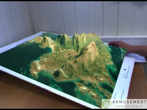 Marker-based AR in Geography