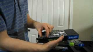 Galaxy GeForce GTX 670 2GB Video Card Unboxing & First Look Linus Tech Tips