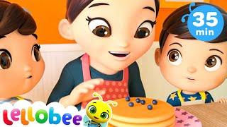 Making Pancakes Song | Baby Songs | Nursery Rhymes & Kids Songs | Little Baby Bum