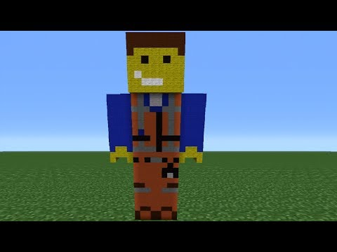 Minecraft 360: How To Make An Emmet Statue (The Lego Movie)