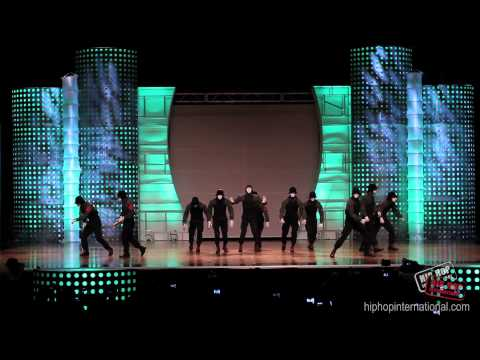 JABBAWOCKEEZ  | Performance @ HHI's 2012 World Hip Hop Dance Championship Finals klip izle