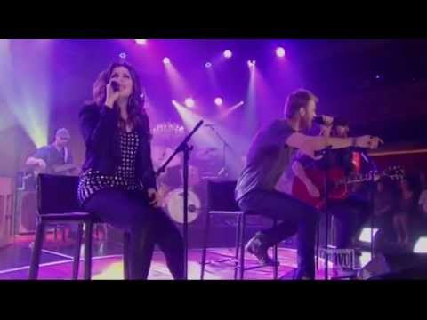 Lady Antebellum - Just A Kiss[live] video