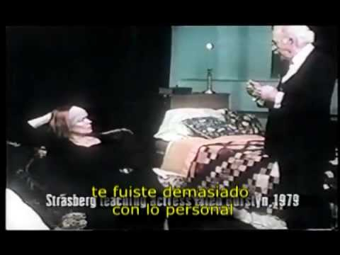 TP Lee Strasberg - Sally field y Ellen Burstyn - Puesta en Escena [Video 1º]