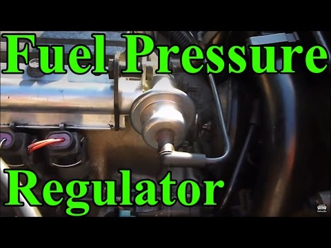 Change a Fuel Pressure Regulator