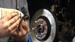 Brake Pads - Front Disc Brakes- Pads and Rotors- How to Replace - East Lansing Michigan