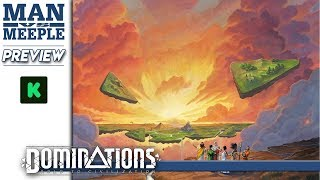 Dominations: Road to Civilization Preview by Man Vs Meeple (Holy Grail Games)