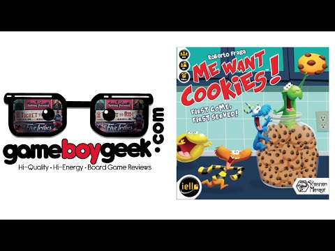 Me Want Cookies Review with the Game Boy Geek