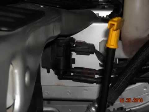 Caravan evap system small leak. Code 0442-0455-0456