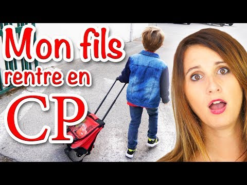 RENTRÉE DES CLASSES : MON FILS RENTRE EN CP! - ANGIE LA CRAZY SÉRIE