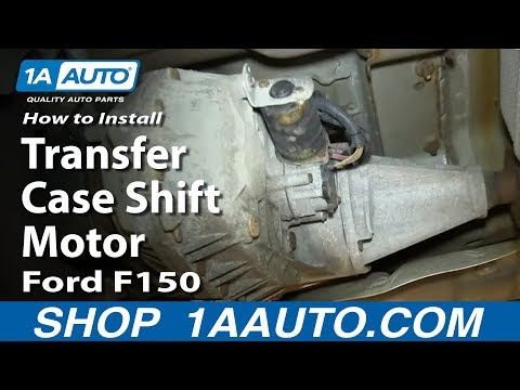 How To Install Replace 4x4 Transfer Case Shift Motor 2004-08 Ford F150 Lincoln Mark LT