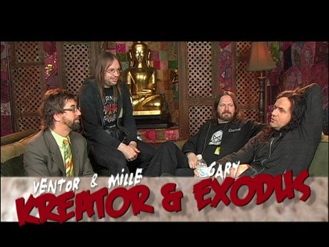 Exodus and Kreator Interview