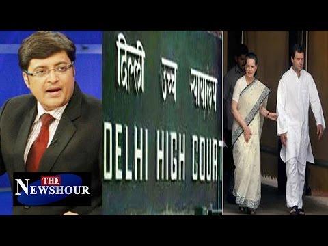 National Herald Case Haunts Ghandhis Again : The Newshour Debate (7th Dec 2015)