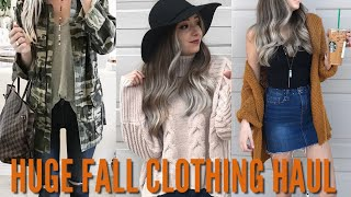 AFFORDABLE TJMAXX & TARGET CLOTHING HAUL | FALL 2018