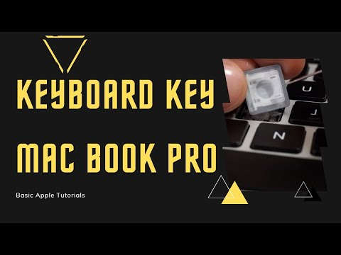 Keyboard Keys - How to remove and clean - MacBook Pro 13 Retina