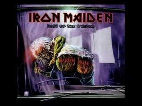 Iron Maiden - All In Your Mind (Studio Version)
