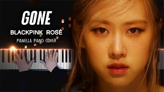 Download lagu BLACKPINK ROSÉ - GONE | Piano Cover by Pianella Piano