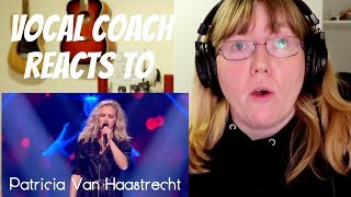 Vocal Coach Reacts to Patricia van Haastrecht 'Bleeding Love' TVOH The Knockouts