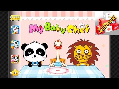 Moja BABY PANDA Kucharz - Polski | Aplikacja Dla Dzieci - Zabawa Z Gotowaniem! My Baby Panda