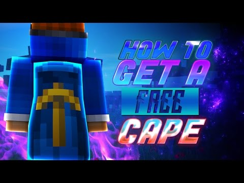 How To Get A FREE Minecraft Cape! 2016/2017! [1.8]