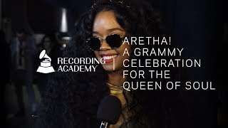 H.E.R. Honors Aretha Franklin With 'I Say A Little Prayer' | Aretha! A GRAMMY Celebration