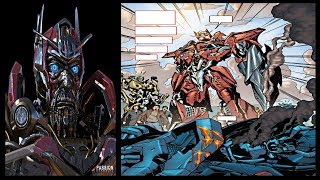 "Transformers Movie History: Sentinel Prime Origin Story ""When he betrayed the Autobots"""