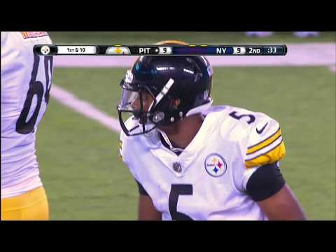 Joshua Dobbs Touchdown P Steelers Vs Giants Preseason