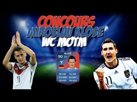 FUT 14 | Concours Miroslav Klose WC MOTM (90)