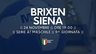 Serie A1M [9^]: Brixen - Siena 29-26