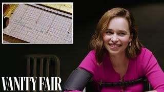 Emilia Clarke Takes a Lie Detector Test | Vanity Fair