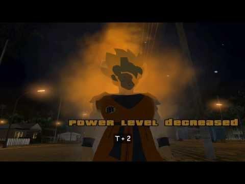 Instalar Mod Transformaciones Y Poderes De Goku para su GTA San Andr