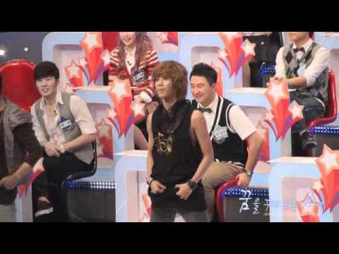 100823 Taemin dance to Lucifer @ $ recording fancam