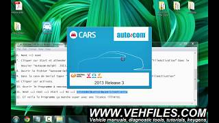BEST Autocom CDP 2013 3 Install & Activation video guide