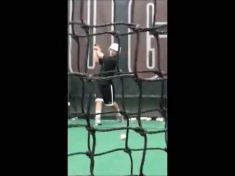 2014 Naoki Imoto Olympic College Recruiting Video Hitting