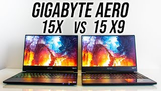 Gigabyte Aero 15 Comparison - 2070 Max-Q vs 1070 Max-Q