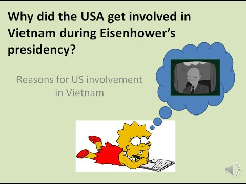 why did the us get involved in vietnam essay Why did australia become involved in the vietnam i'm writing an essay action to be taken in the event of an attack on the united states.