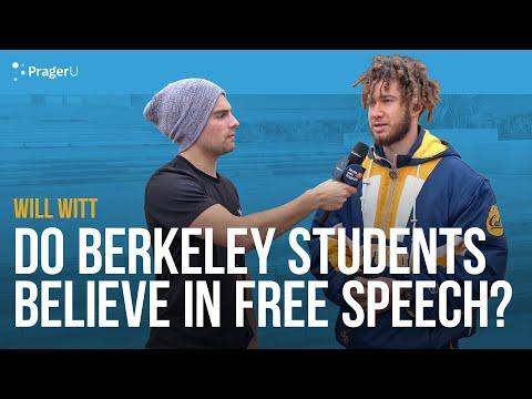 Will Witt Asks UC Berkeley Students About Free Speech